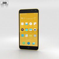 3D meizu note m1 model
