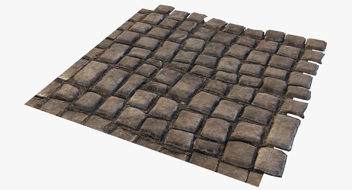 3D paving stones tileable