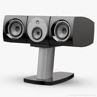 3D lcr stand center focal model