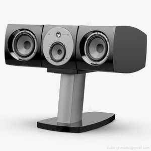 3D lcr stand center focal