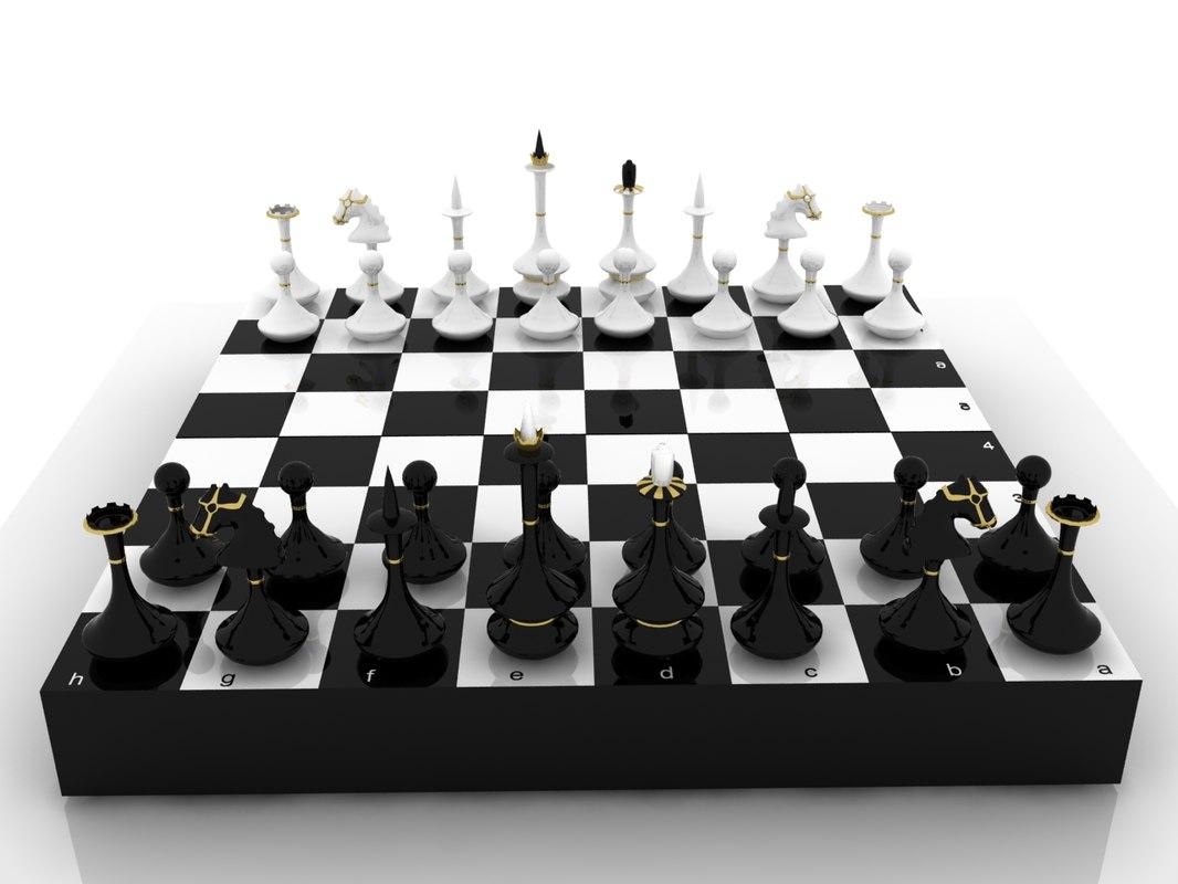 chess 3D model