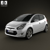 hyundai ix20 2011 3D model
