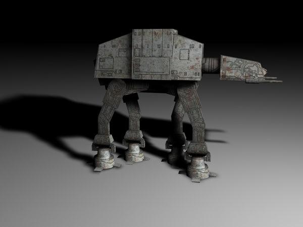 atat star wars 3D model