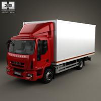 3D iveco eurocargo box