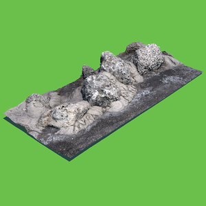photo scanned 3D model