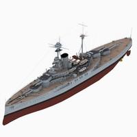 3D battleship revenge class