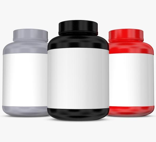 bottles 3D model
