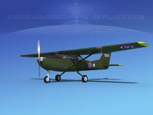 3D model propellers cessna t-41 mescalero