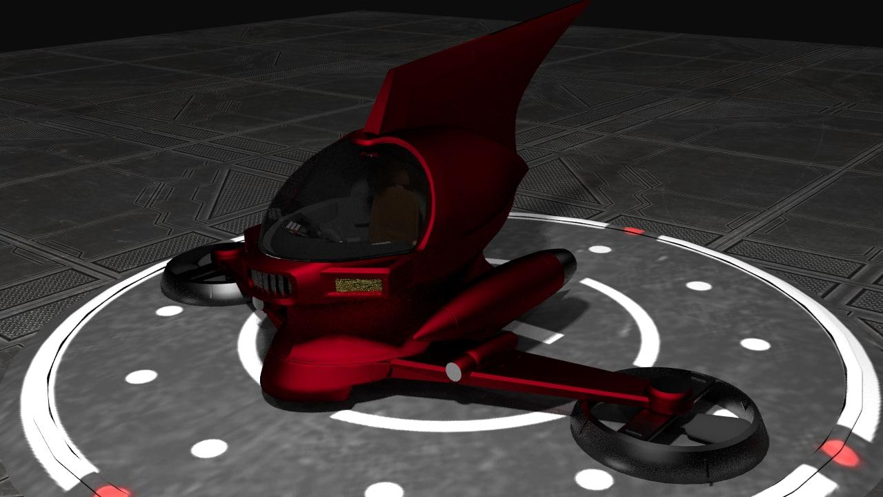 pilder mazinger 3D model