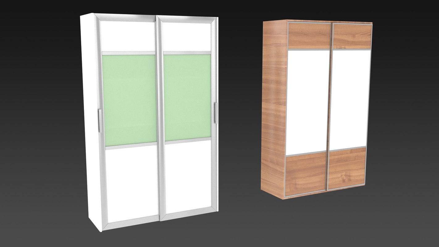 3D wardrobe r model