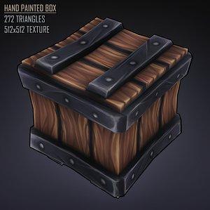 3D model stylised box