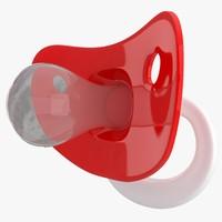 pacifier 04 3D model