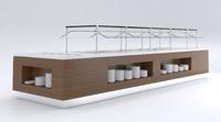 3D salad bar