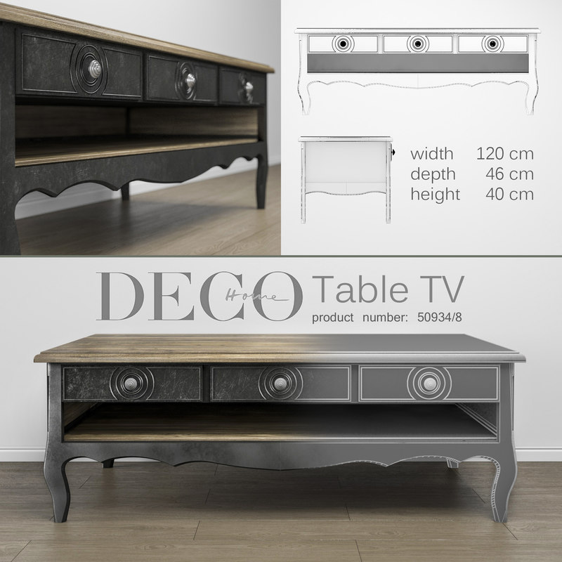 3D deco-home table tv