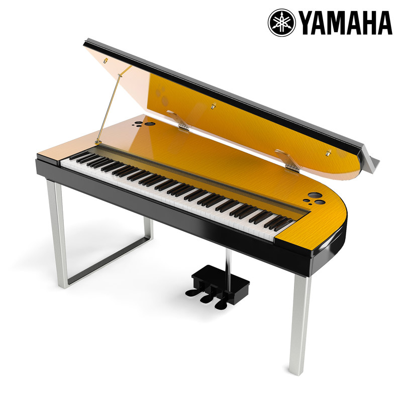 3D yamaha digital piano modus