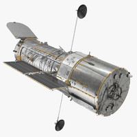 3D hubble space telescope model