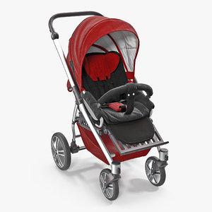 baby buggy 3D model