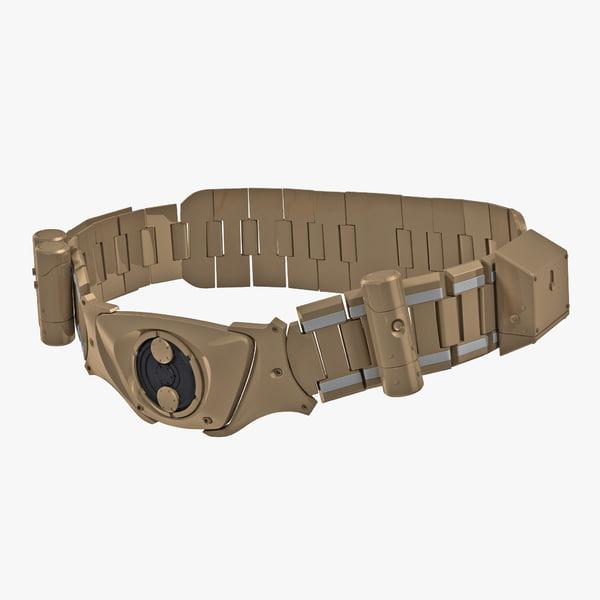batman belt 3D model