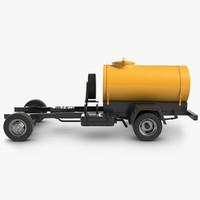 tank truck frame 3D