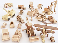 Wooden toy vol 01