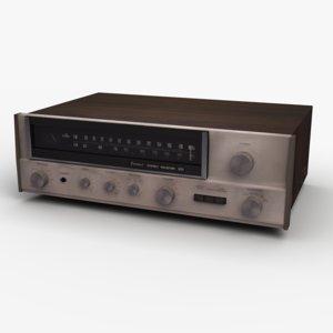 3D radio sansui