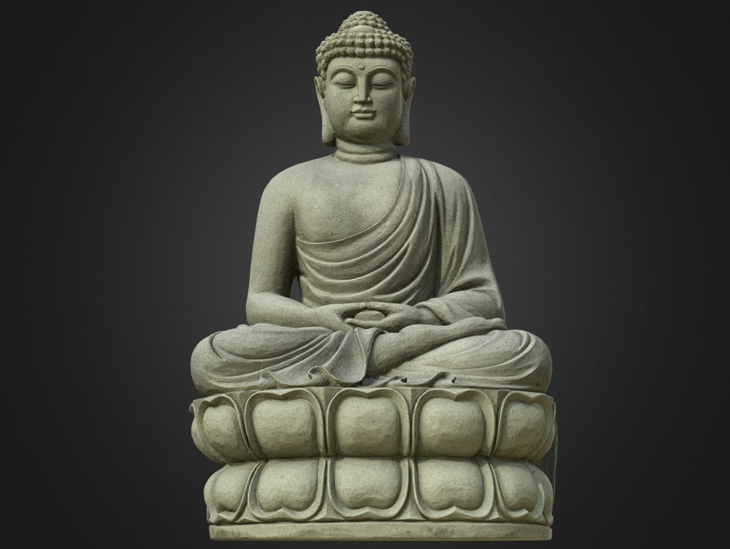 8k gautama 3d model 1143507 turbosquid - Gautama buddha hd pics ...