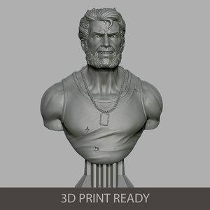 3D model logan printing