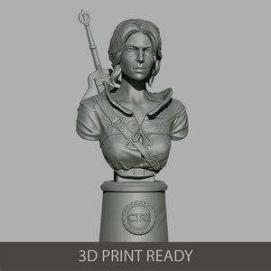 ciri 3D model