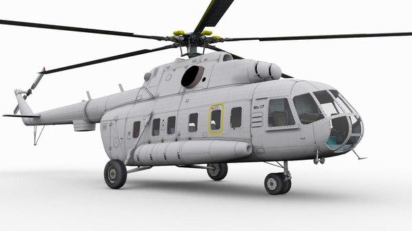 mil mi-17 3D model