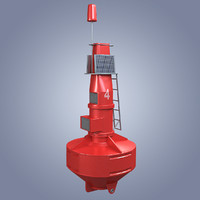 3D sea buoy atlantic