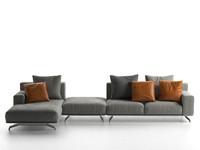 3D dalton sofa