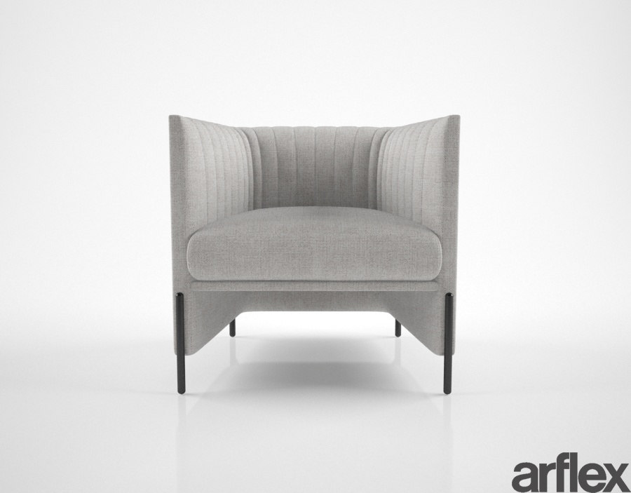 3D model arflex algon armchair
