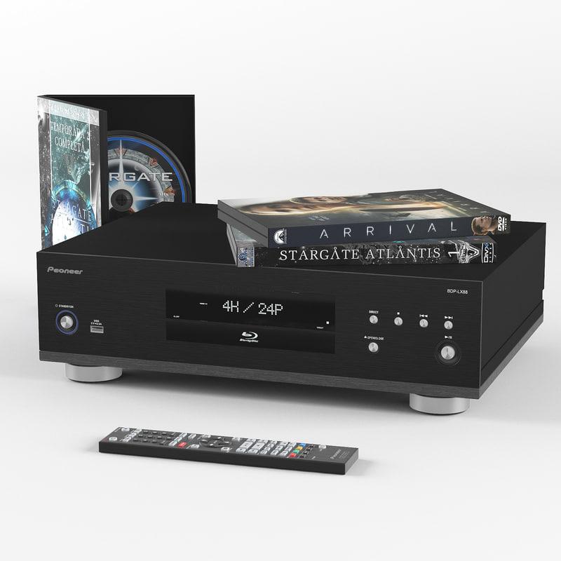 3D player audio model