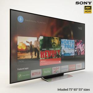 3D sony tv 55