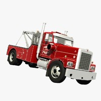 3D diamond reo giant tow truck