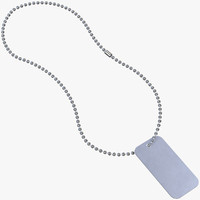 dogtags ball-chain 3D