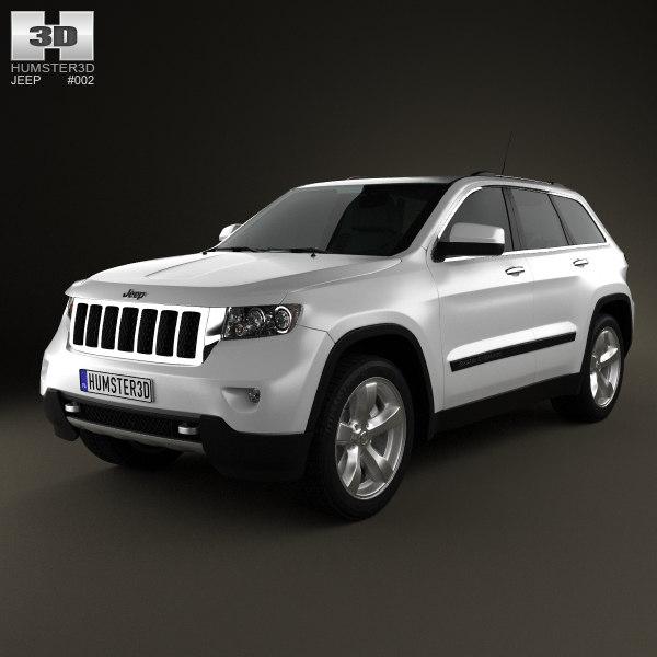 3D jeep grand cherokee model