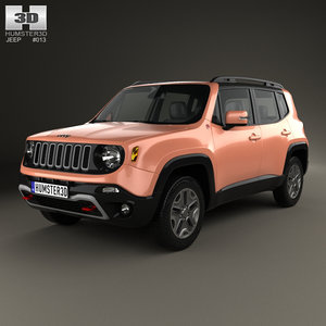 3D model jeep renegade trailhawk