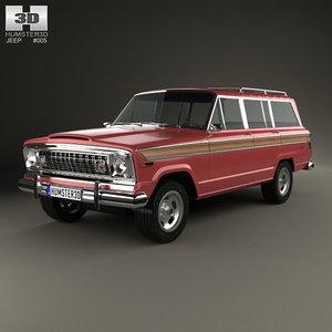 jeep wagoneer 3D model