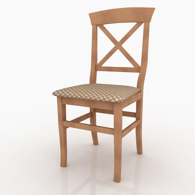rusticil chair 3D model