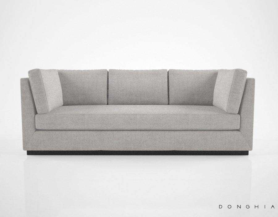 donghia fifth avenue sofa model
