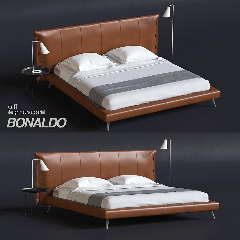 3D model cuff bonaldo -