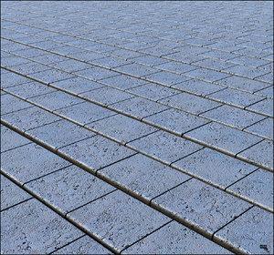 3D stone floor