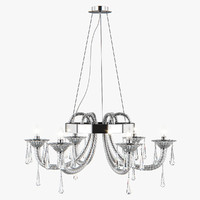 3D chandelier 821060 corno lightstar model