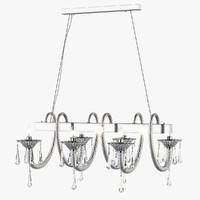 3D chandelier 821160 corno lightstar