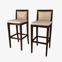 bar chair 3D
