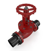 Gate Valve (High- & lowpoly)