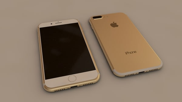 3D apple iphone 7