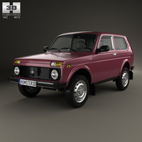 4x4 2012 lada 3D model
