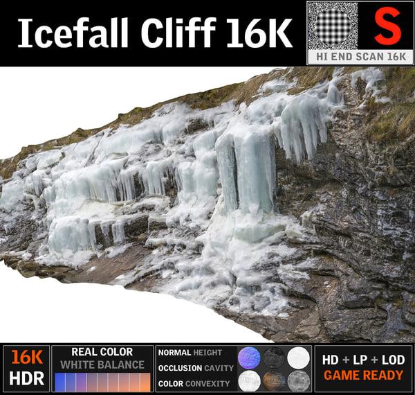 icefall 16k 3D model